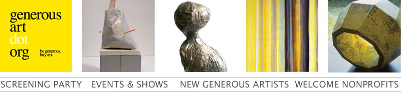 Generous Art Newsletter February