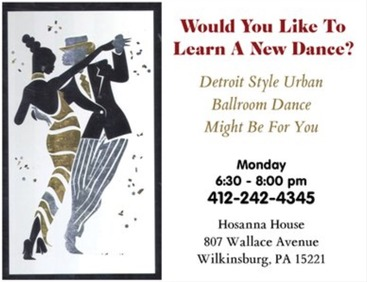 Detroit Ballroom Dance Ad